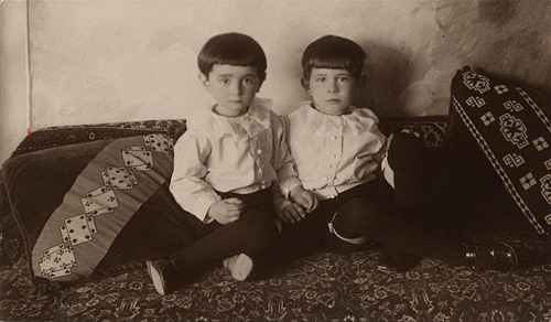 Gisi and Uly. Constantinople, 1919.