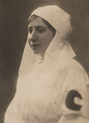 Ronya in nurse uniform - 1912